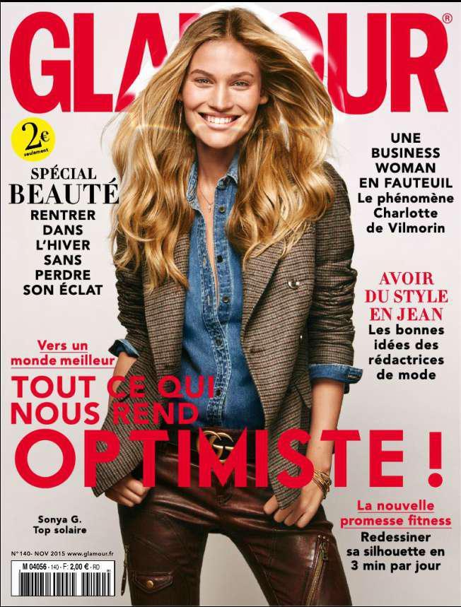 Abonnement papier 1 an à Glamour (petit format)