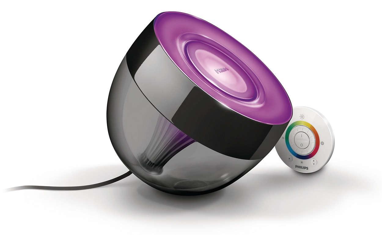 Lampe d'Atmosphère Philips LivingColors Iris - Noir