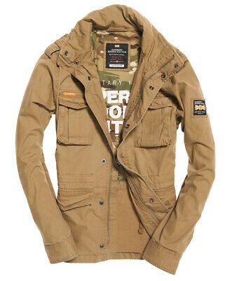 d72848db4 Veste Militaire Superdry Rookie Sandstone - Tailles au choix ...