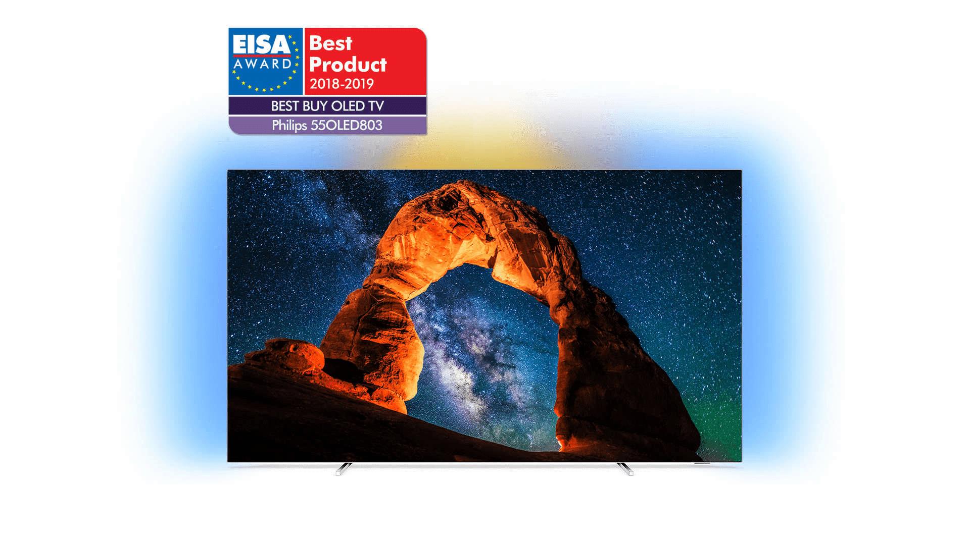 """TV 55"""" Philips 4K 55OLED803 - UHD 4K, OLED"""