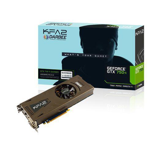 7% de réduction sur les produits Gaming - Ex : Carte graphique KFA2 GeForce GTX 750 Ti 2 Go - Darbee Edition à 106.86€