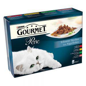 Lot mixte Gourmet Perle pour chat (8 x 85 g) offert pour un minimum d'achat de