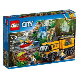Jouet Lego City - Le laboratoire mobile de la jungle (60160)