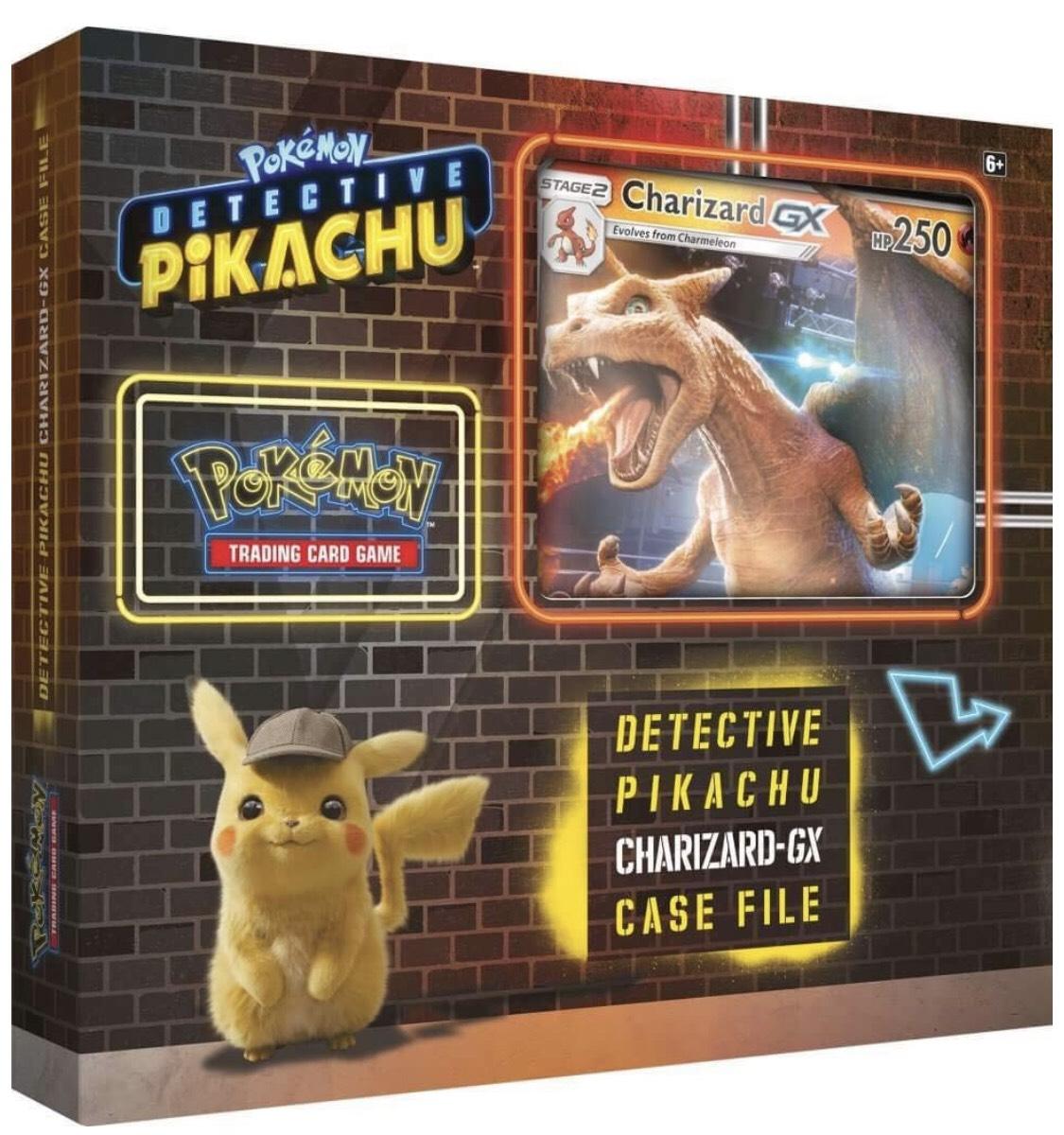 Set de cartes Pokémon Pikachu Détective Édition Dracaufeu GX - Espace Culturel Blois (41)