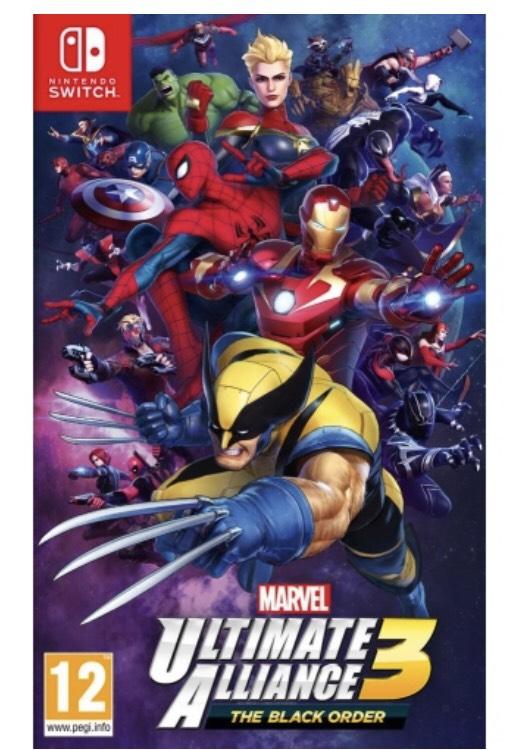 [Précommande] Marvel Ultimate Alliance 3 : The Black Order sur Nintendo Switch