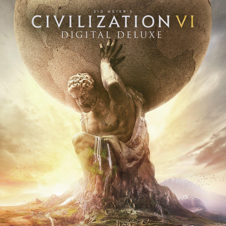 Sid Meier's Civilization VI Digital Deluxe Edition sur PC (Dématérialisé - Steam)