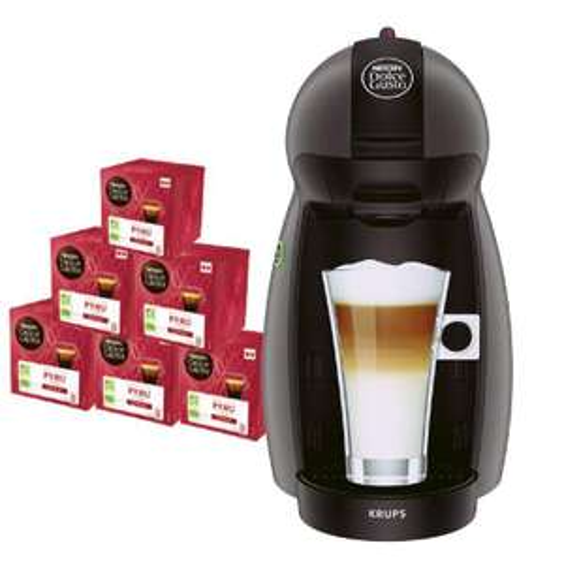 Machine à café Dolce Gusto Krups + 72 capsules de café Bio Péru