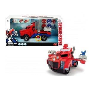 Jouet Camion Lance Disque Transformer Majorette Optimus Prime
