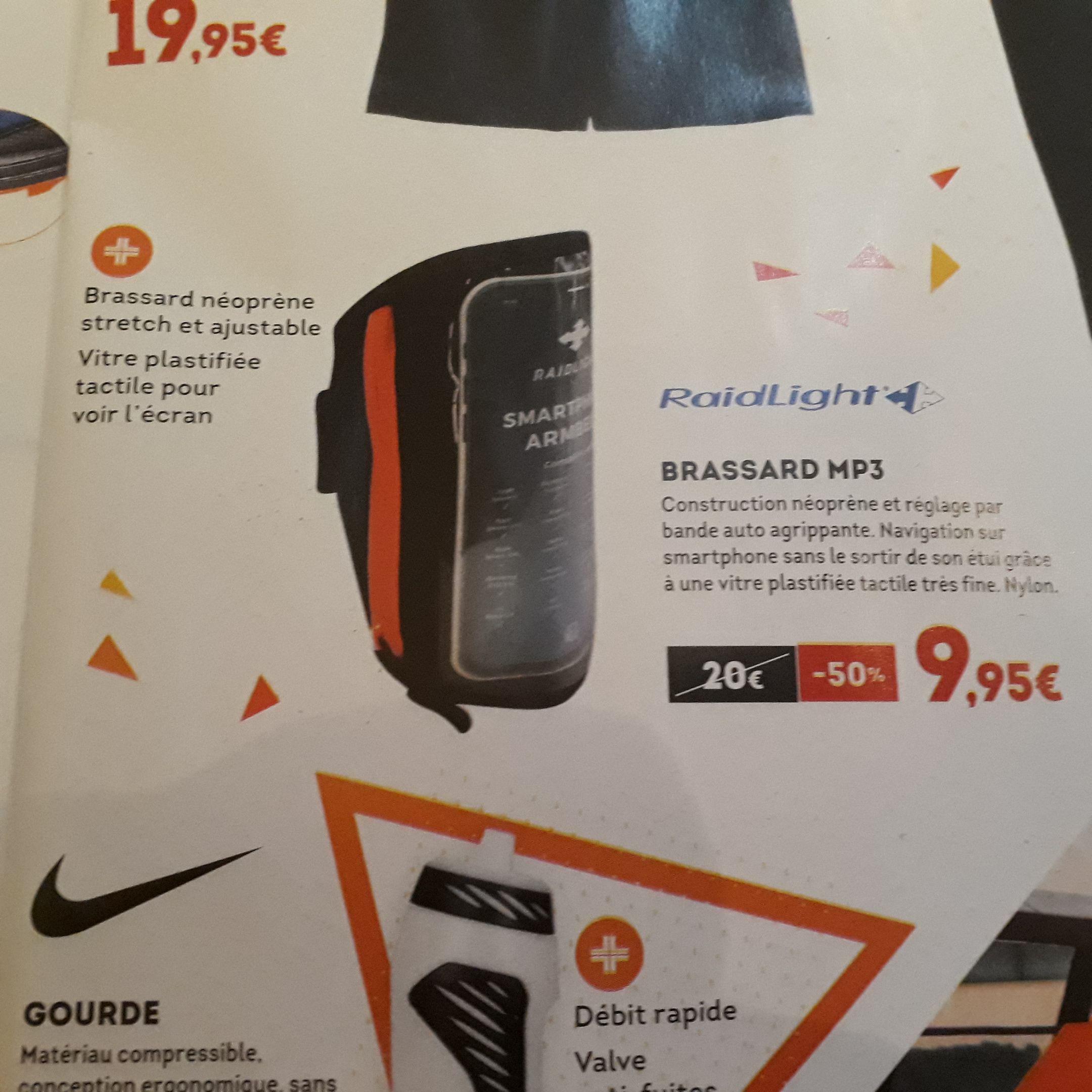 Brassard MP3 RaidLight pour Smartphone