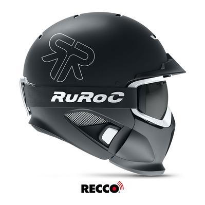 50% de réduction sur une sélection de casques ski/snow Ruroc - Ex: RG1-DX Eclipse matte black/white
