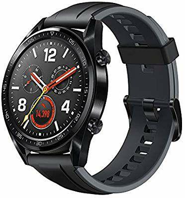 Montre Connectée Huawei Watch GT - AMOLED, GPS, 5 ATM, Cardio au poignet
