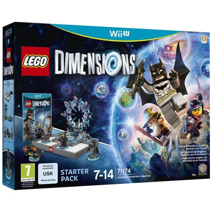 Lego Dimensions Starter Pack sur Nintendo Wii U - 71164