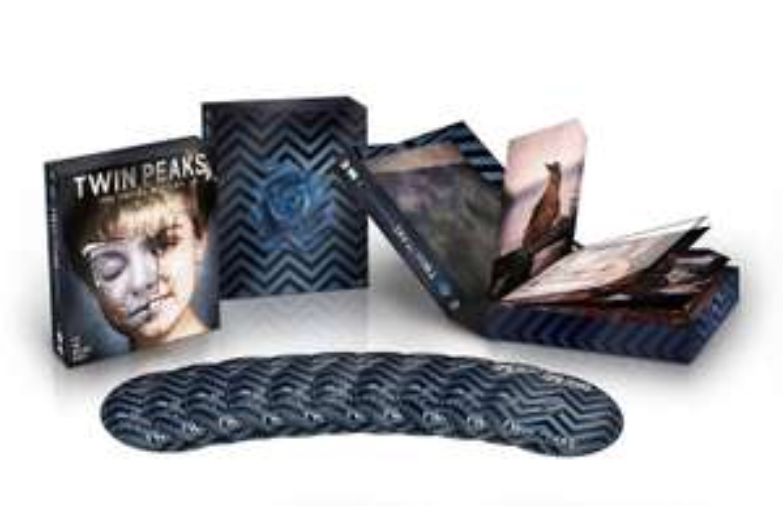 Coffret Blu-ray Twin Peaks Intégrale (Films + Séries - 10 Blu-rays)