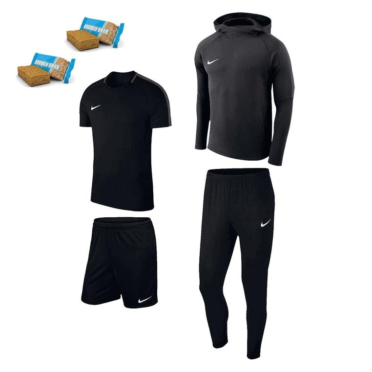 Ensemble Nike Sport - 5 coloris dispos - du S au XXL (Sauf Sweat taille M) - 2 barres énergétiques incluses