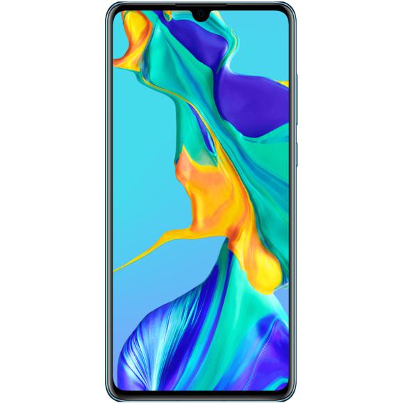 """Smartphone 6.1"""" Huawei P30 - 128 Go + Carte Cadeau de 100€ offerte (Valable sur Rue du commerce et Carrefour)"""