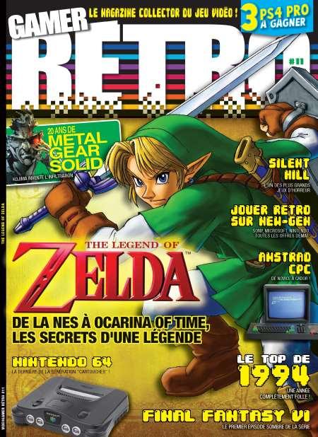 Abonnement au Magazine Vidéogamer Retro - 1 An (6 Numéros)