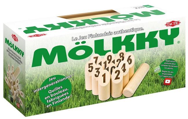 Jeu de quille en bois Tactic Mölkky