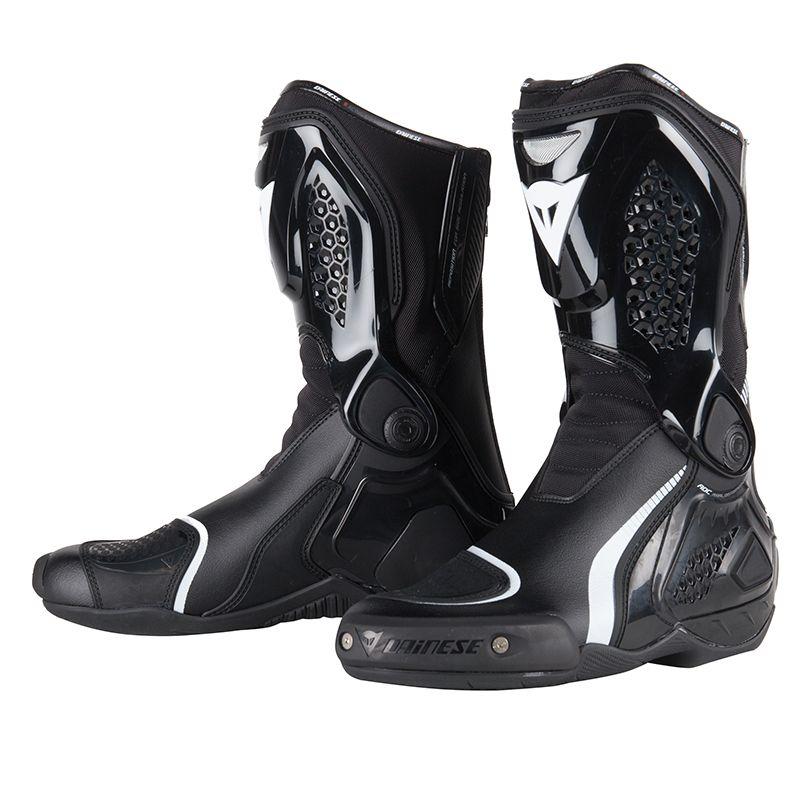 Bottes de moto Dainese Tr-Course Out - Noires, Taille 43