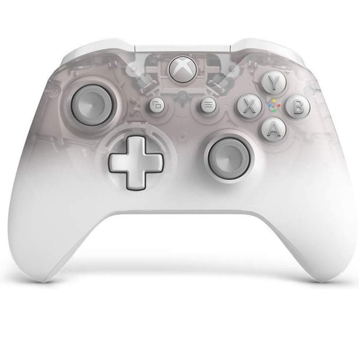 Manette Sans-fil Microsoft Xbox One Phantom White