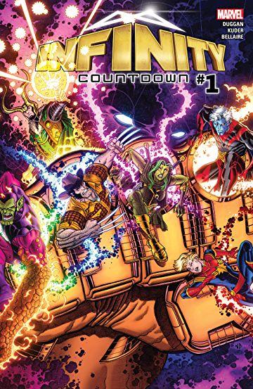 Comics Marvel Gratuits (Dématérialisés - VO) - Killmonger #1, Shatterstar #1, Indestructible Hulk #1 & Infinity Countdown #1