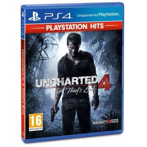 Uncharted 4 A Thief's End PlayStation Hits sur PS4 (Vendeur tiers)
