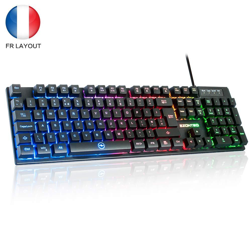 Clavier Gamer Horsky RGB (AZERTY- vendeur tiers)