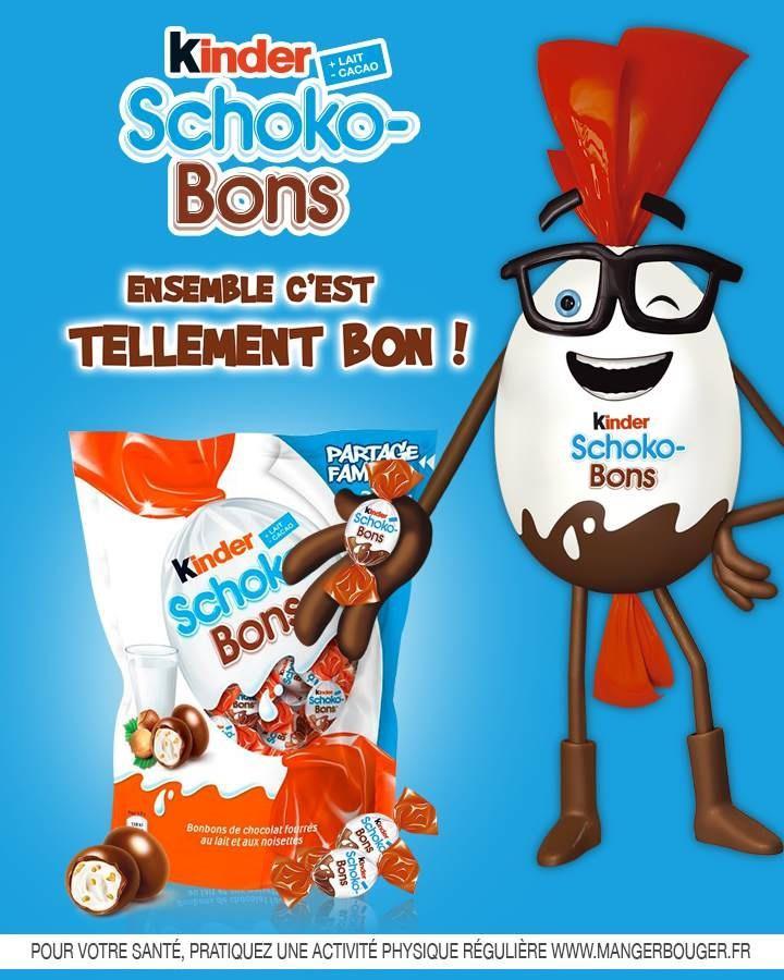 Paquet de 300g de Kinder Schoko-Bons