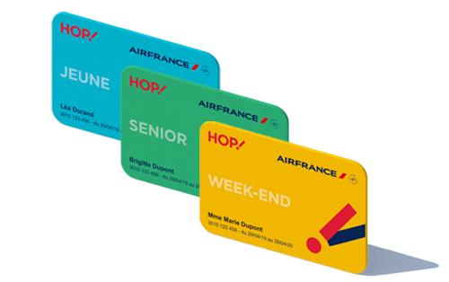 Sélection de Cartes de Réduction Hop! (Jeune, Senior) à 19€