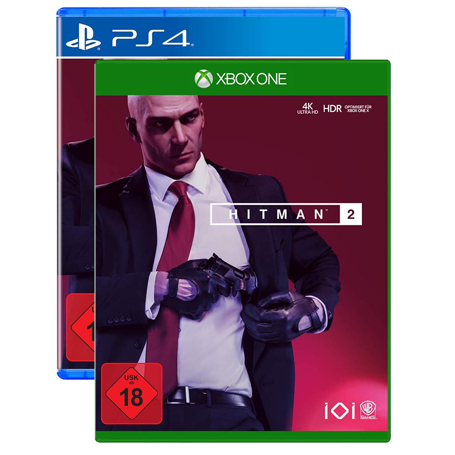 Hitman 2 sur Xbox One ou PS4