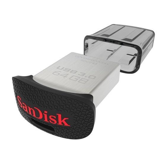Clé USB 3.0 SanDisk 64 Go Cruzer Ultra Fit