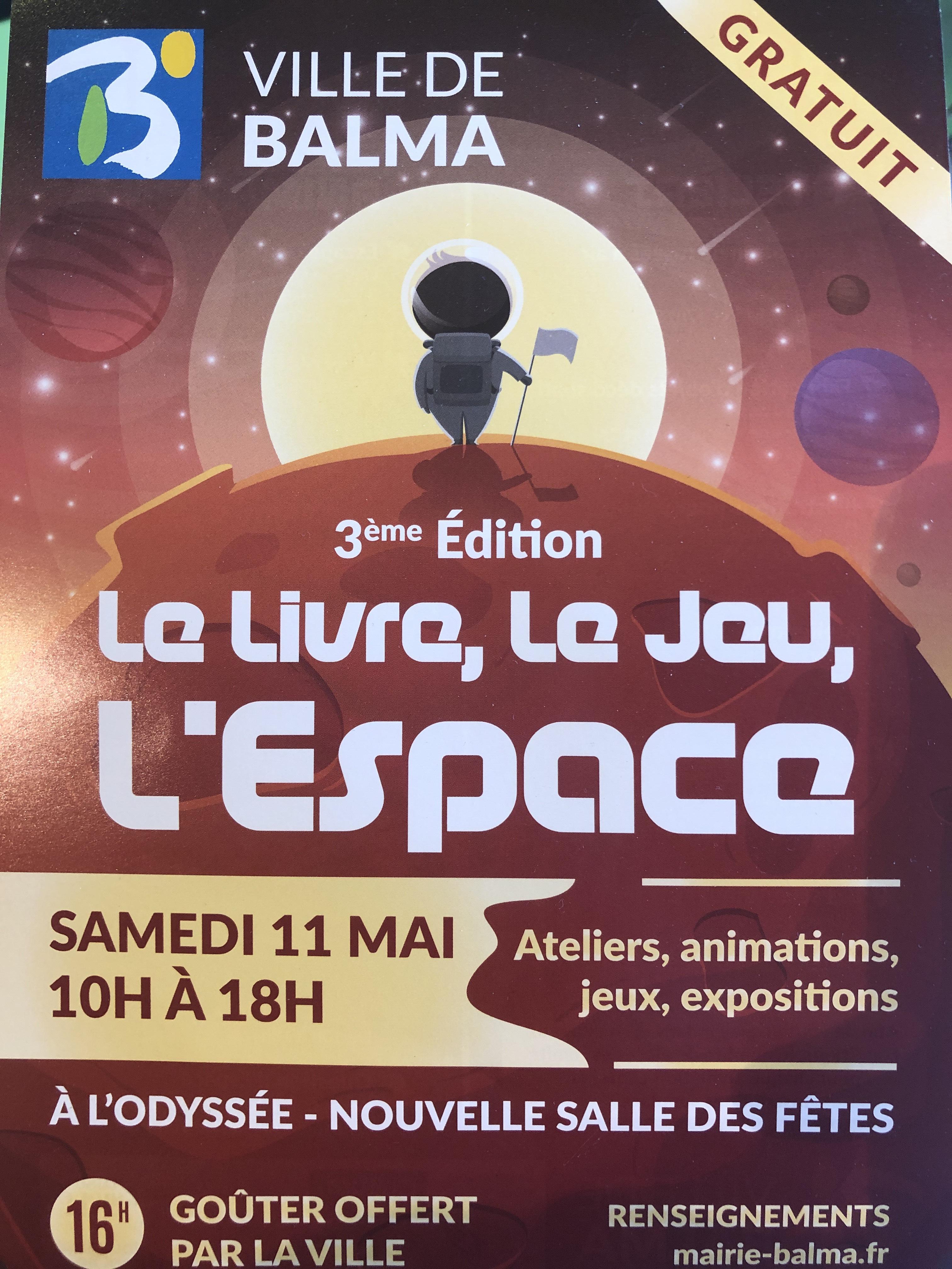 Le livre, le jeu, l'espace: Expositions, Séance de cinéma Le voyage dans la Lune... Gratuits - Balma (31)