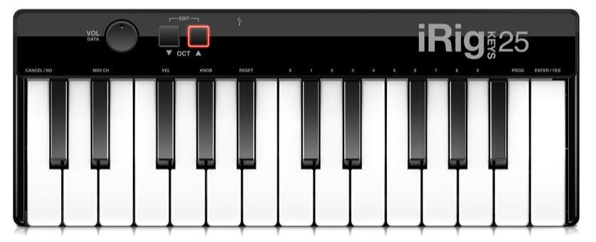 Clavier maître 25 touches IK Multimedia iRig Keys 25