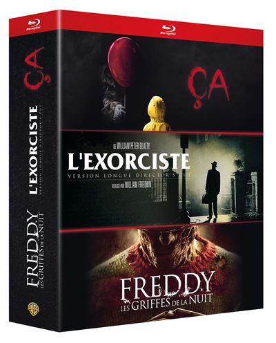 Sélection de Coffrets Blu-Ray en promotion - Ex : Coffret Ça + L'Exorciste + Freddy