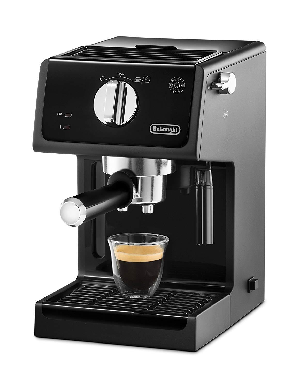 Cafetière expresso Delonghi ECP 31.21 - 1100W, 15 bars (Via 26.70€ sur la carte)