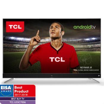 "TV 55"" TCL U55C7006 - 4K UHD, Led, Android TV (via ODR de 100€)"