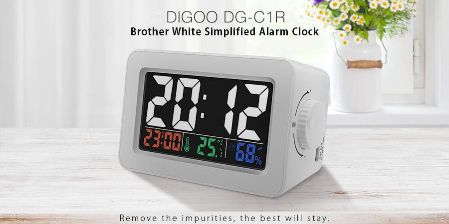 Station météo et réveil couleur Digoo DG-C1R