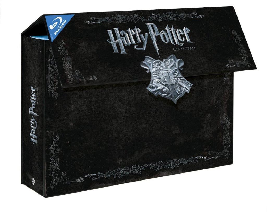 Black Week-end : jusqu'à 50% de réduction sur une sélection de coffrets DVD, Blu-ray et Séries TV - Ex : Intégrale Harry Potter 11 Blu-ray
