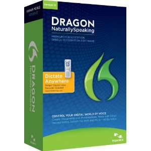 Dragon NaturallySpeaking Premium mobile v12 ( premium + enregistreur philips voice tracer 662)