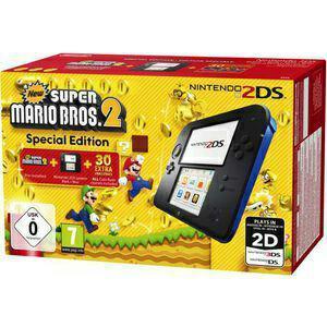 Console Nintendo 2DS + Super Mario Bros 2 (15€ sur la carte)