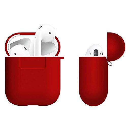 Coque de protection en silicone pour boîtier Apple AirPods ABCGreen - avec 4 accessoires (vendeur tiers)