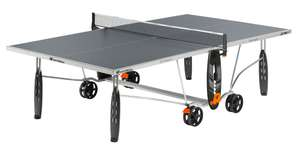 Table de tennis de table Cornilleau X-Trem Outdoor (gris) - E-Ping-Pong.com
