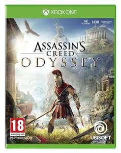 Assassin's Creed: Odyssey sur Xbox one (+ 2,60€ en SuperPoints)