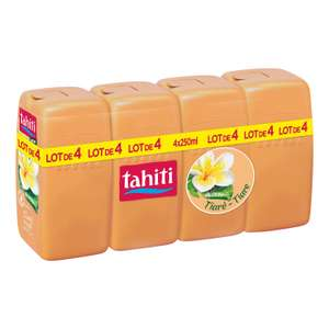 Lot de 4 Tahiti Gel Douche