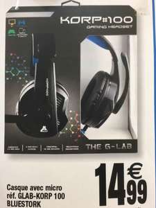 Micro Casque G Lab K100 pour PS4, Switch ou Xbox One