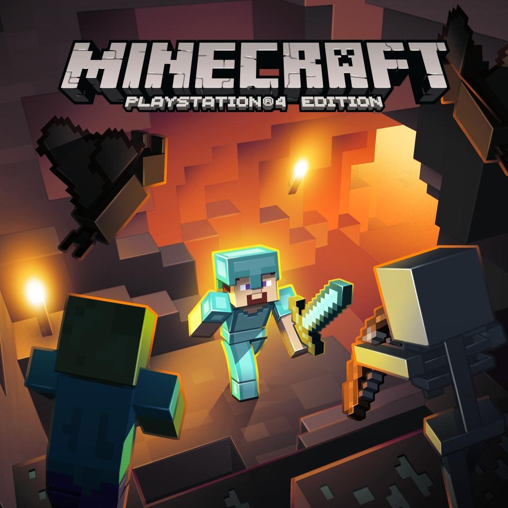 Minecraft PlayStation 4 Edition sur PS4 (Dématérialisé)