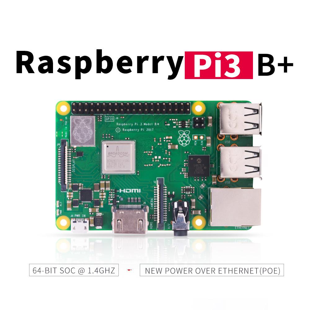 Mini-PC Raspberry Pi 3 (modèle B+) - 1.4 GHz, 1 Go de RAM