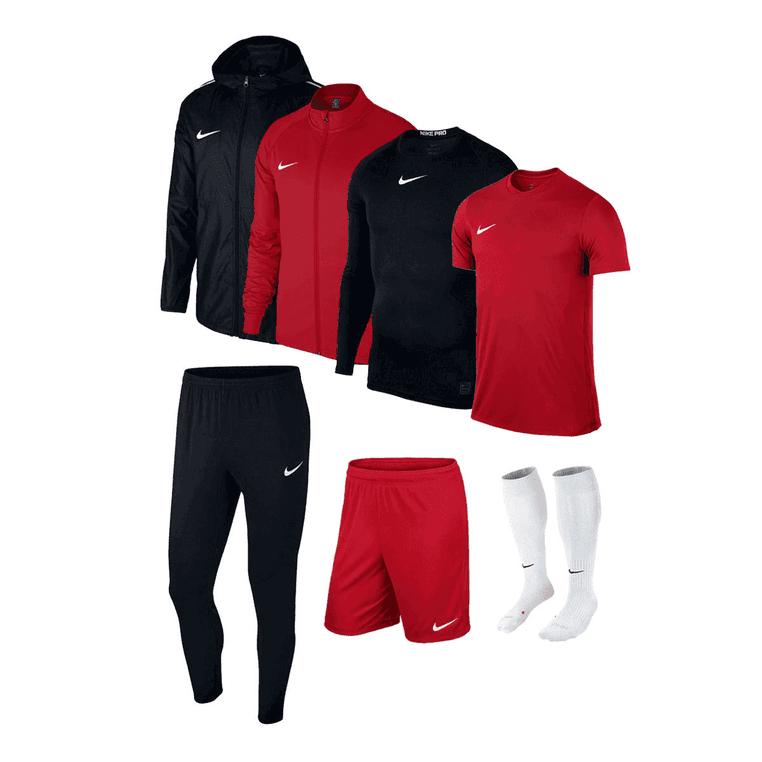 Ensemble sportif Nike Academy 18 (7 pièces) - 6 coloris disponibles - Tailles du S au XXL (selon les pièces)
