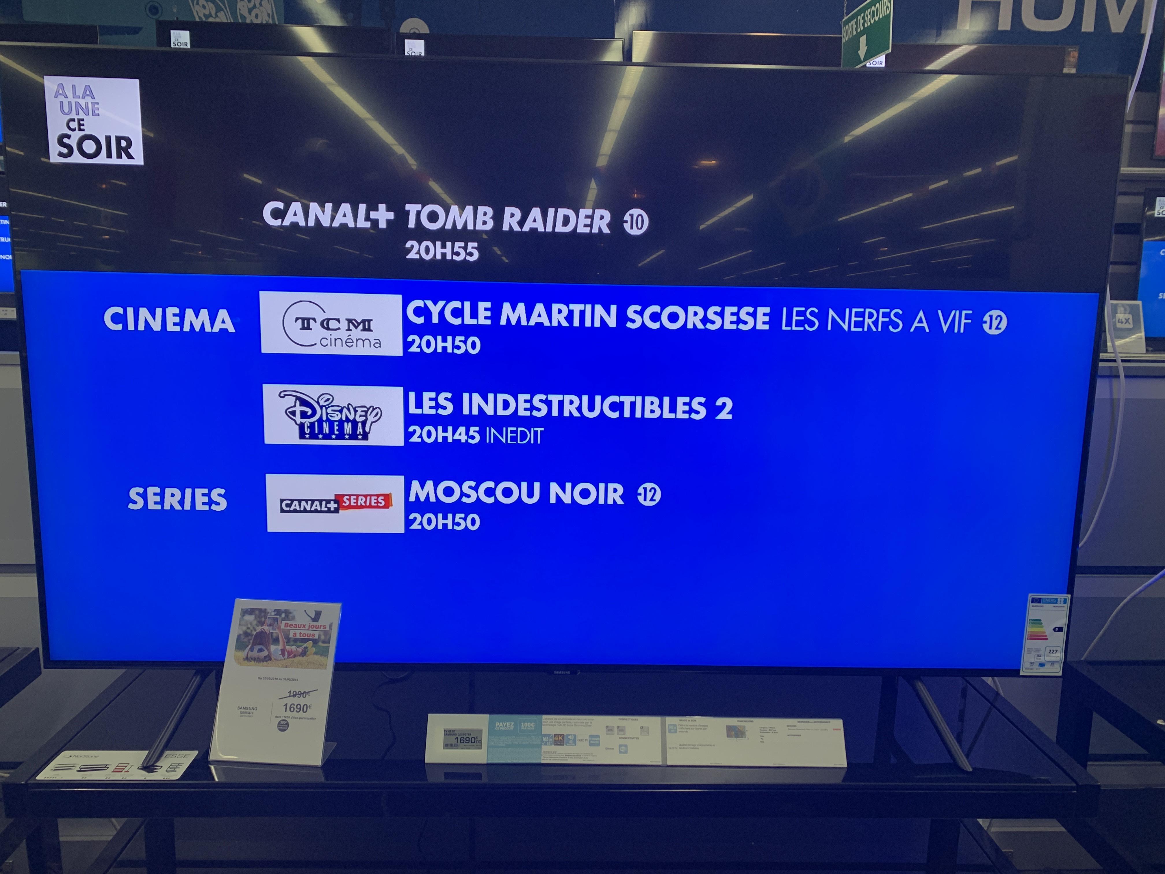 """TV 65"""" Samsung 65Q70R, 4K UHD - Wittenheim (68)"""