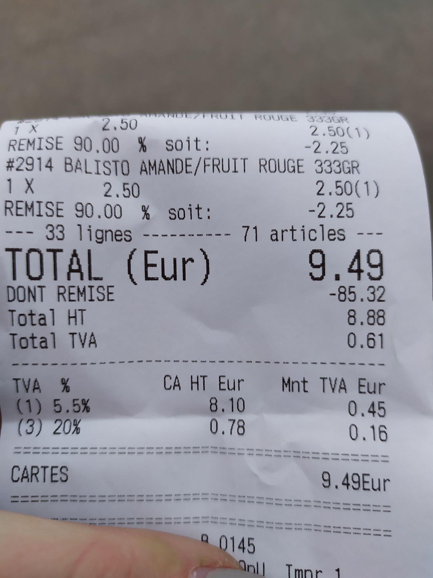 90% de réduction sur tout le magasin - Destockeur malin Lons le saunier (39)