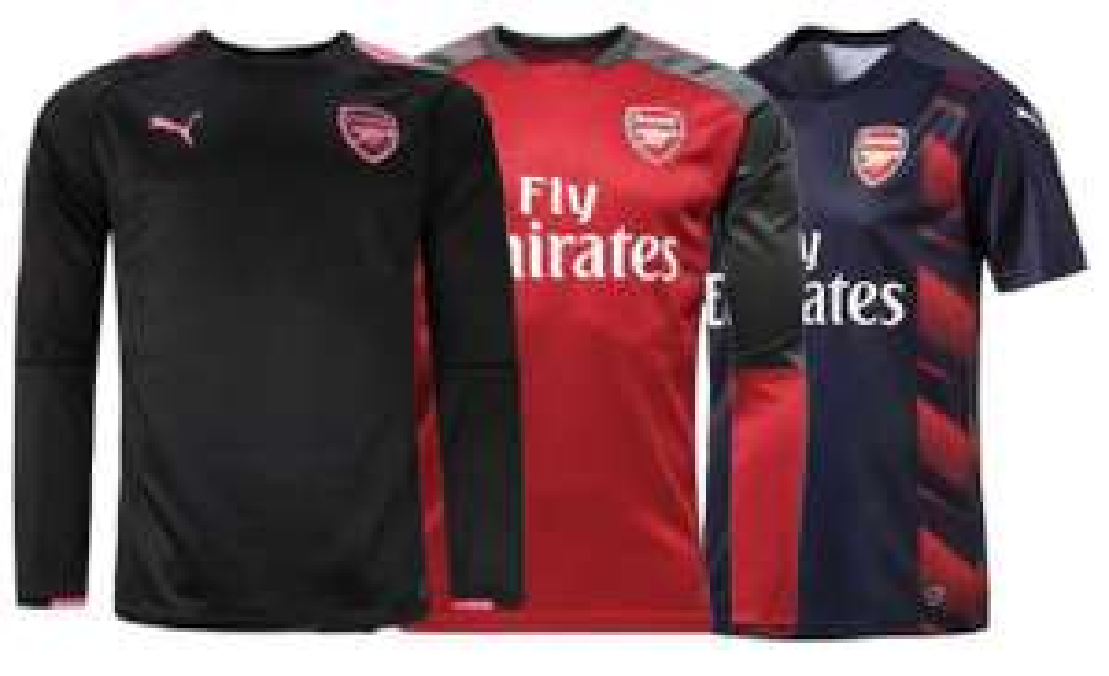 Maillots de football Arsenal Puma